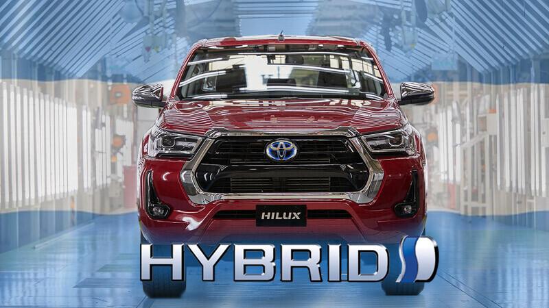 Toyota Hilux híbrida ya estaría en desarrollo
