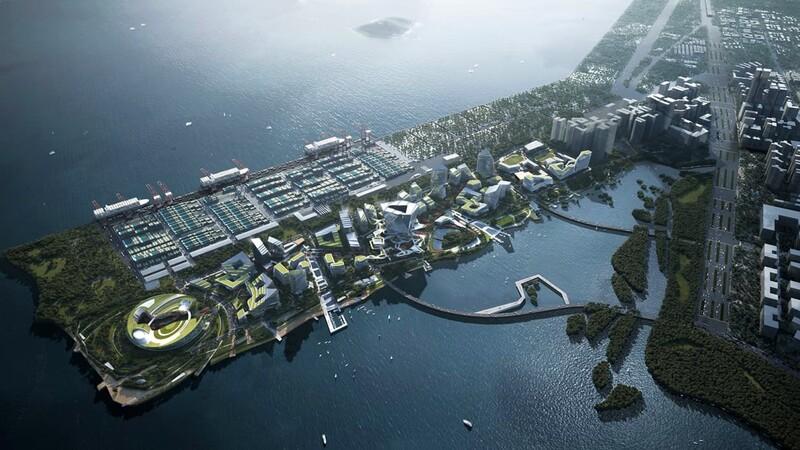"""China está construyendo una """"ciudad del futuro"""" sin automóviles"""