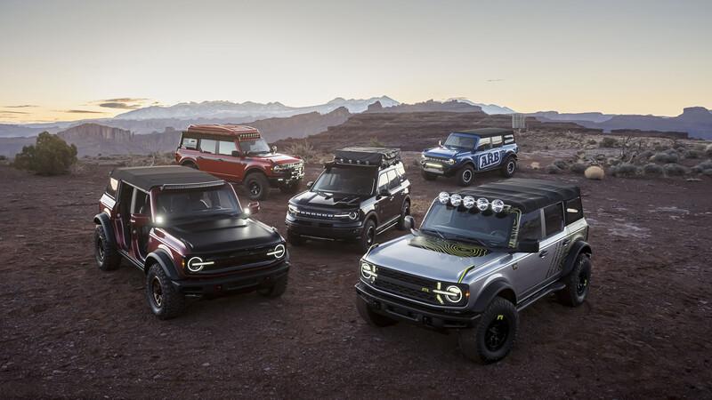 Ford presenta accesorios para el Bronco