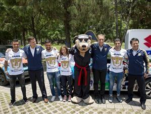 Suzuki es el nuevo patrocinador de los Pumas de la Universidad