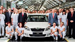 Skoda ha fabricado el Fabia número 3 millones