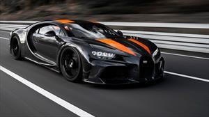 Bugatti Chiron logra el récord de velocidad para un auto de producción