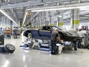 Porsche realiza recall al 918 Spyder