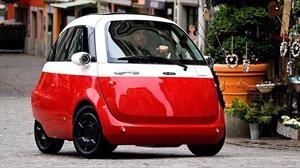 Microlino es un diminuto auto eléctrico que imita al clásico BMW Isetta