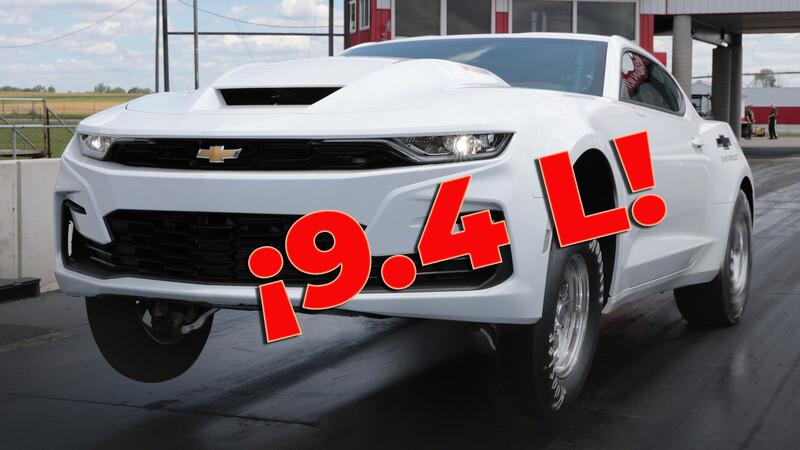 Chevrolet vende un Camaro accesible con un V8 de 9.4L de fábrica