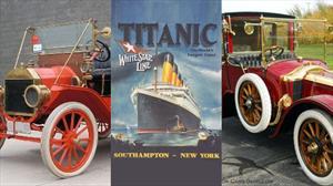 Los autos que el Titanic se llevó