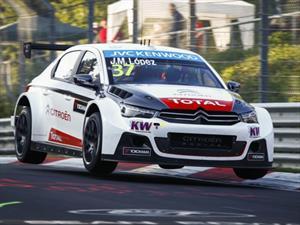 WTCC: Pechito y Citroën son lo amos de Nürburgring