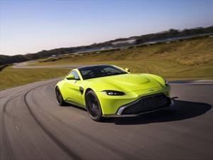 Aston Martin Vantage 2018, fusión de gallardía y elegancia