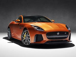 Jaguar F-Type SVR, el auto más rápido de la marca inglesa