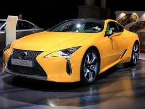 Lexus LC 500h Limited Edition, yellow power