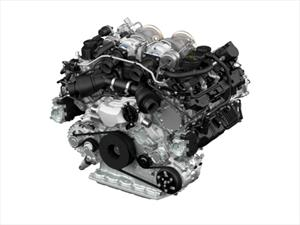 Porsche presenta un nuevo motor V8 biturbo