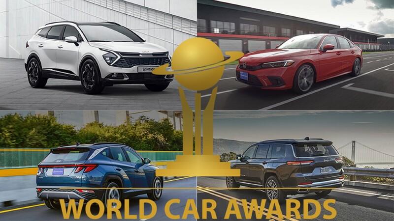 Los World Car Awards 2022 ya tienen su primera nómina de candidatos
