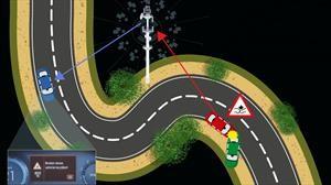 Ya es posible que los autos avisen a otros autos sobre un accidente o peligro en el camino