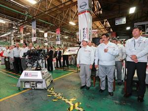 Nissan alcanza 11 millones de motores producidos en México