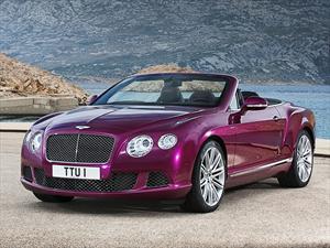 Bentley Continental GT Speed Convertible 2013, le hace honor a su nombre