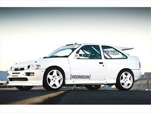 Este Ford Escort RS Cosworth 1991 es el nuevo juguete de Ken Block