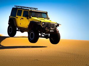 Video: un Jeep Wrangler Unlimited llevado al límite