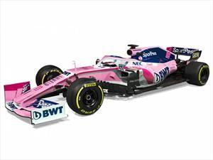 F1 2019: SportPesa Racing Point F1 presentó a su máquina para la temporada