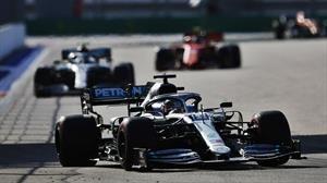 F1: Hamilton y Bottas logran doblete en el podio del GP de Rusia 2019