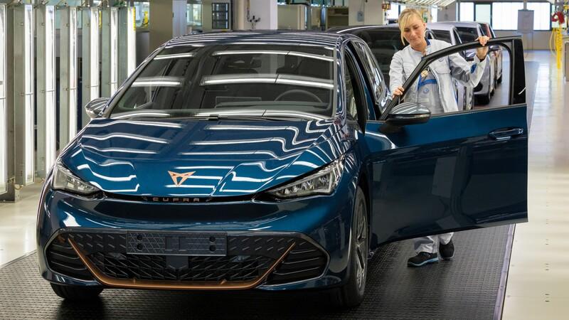 CUPRA inicia la producción del Born, su primer auto eléctrico