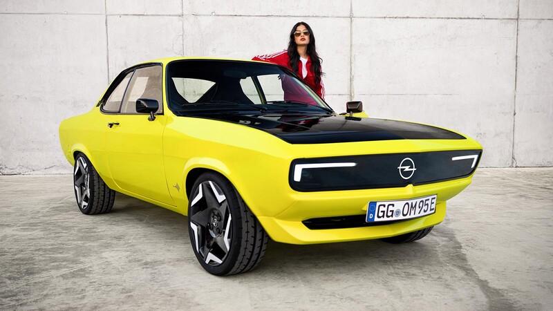 Opel revive una unidad del Manta con tecnología eléctrica