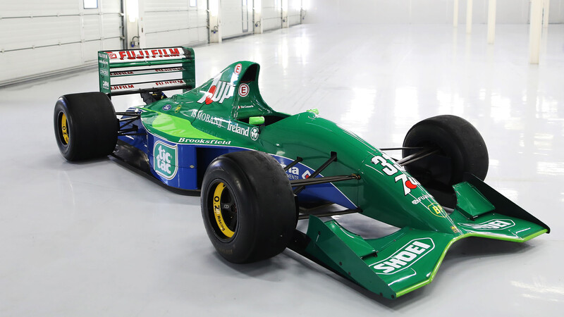 El primer auto de F1 de Michael Schumacher está a la venta