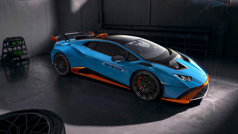 Lamborghini Huracán STO es un auto de carreras que puede rodar en las calles