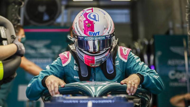 F1 Sebastian Vettel homenajea a Carlos Reutemann en Silverstone