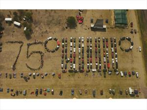 Jeep celebra su 75 aniversario en México