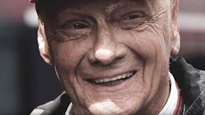 Mercedes-Benz muestra inédita entrevista a Niki Lauda