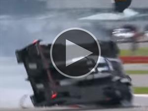 Este Porsche 919 Hybrid evitó un aparatoso accidente