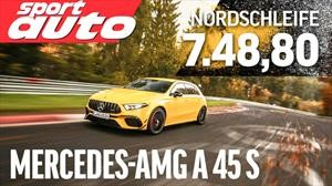 Video: El Mercedes-AMG A45S brilla en Nürburgring