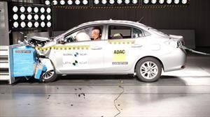 Toyota Yaris se somete al crash test de Latin NCAP