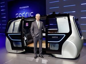 Volkswagen Group Sedric Concept, los autónomos del futuro