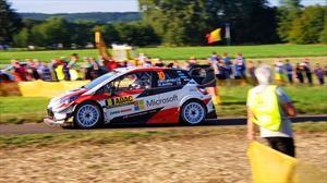 Toyota hace el 1-2-3 en el Rally de Alemania 2019