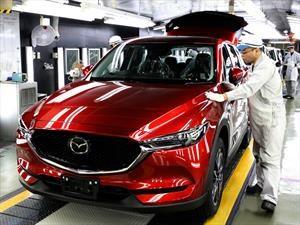 Mazda inicia la producción del CX-5 2017