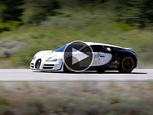 Video: El sonido de un Bugatti Veyron Super Sport a 400 Km/h