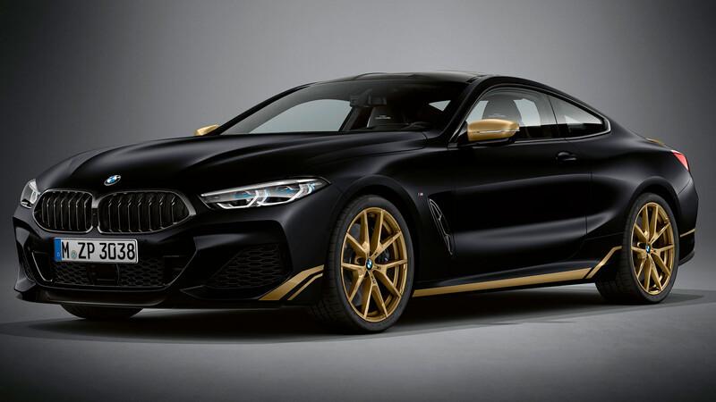 BMW lanza edición especial del Serie 8 cargada de dorado
