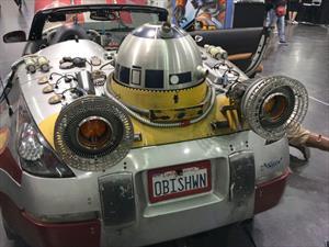 Los impresionantes autos de Star Wars