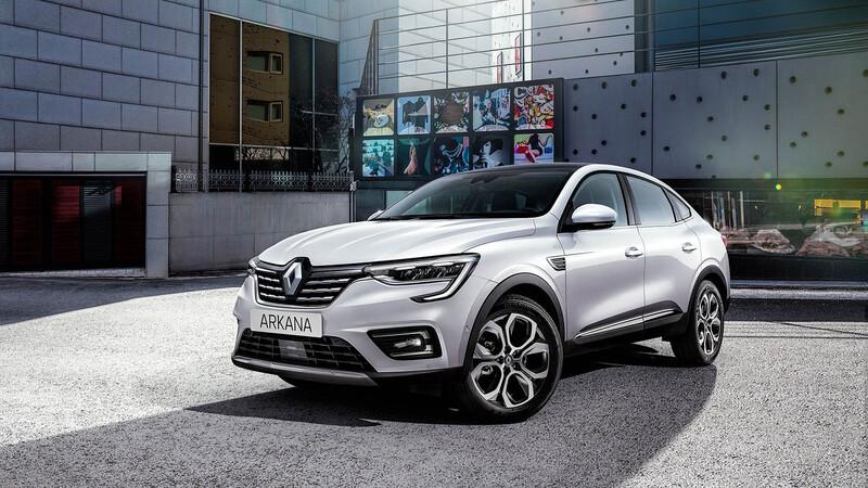 Comienza la cuenta regresiva para el lanzamiento del Renault Arkana en Chile