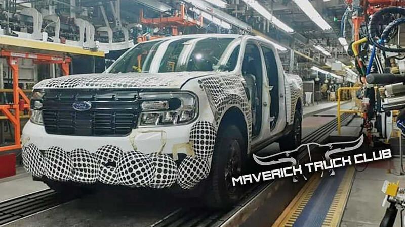 La Ford Maverick se filtra de frente desde su fábrica