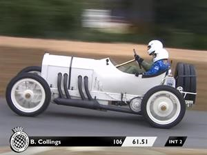 Goodwood 2018: un Mercedes demuestra que 110 años no son nada