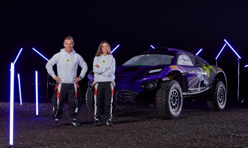 Sébastien Loeb y Cristina Gutiérrez son fichados para el equipo de Hamilton en la Extreme E