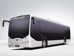 BYD K9: Bus 100% eléctrico llega a Nueva York