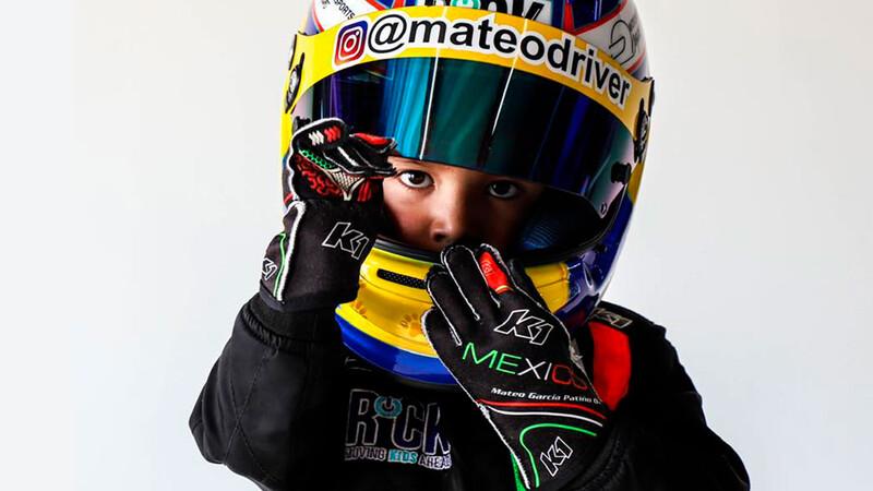 Mateo García, el piloto mexicano más joven, da su primer paso en el sueño de alcanzar la F1