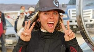 Jessi Combs, la mujer más rápida del mundo en cuatro ruedas, muere en un accidente