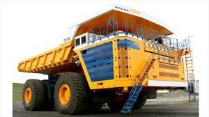 BelAZ 75710 es el camión más grande y poderoso del planeta