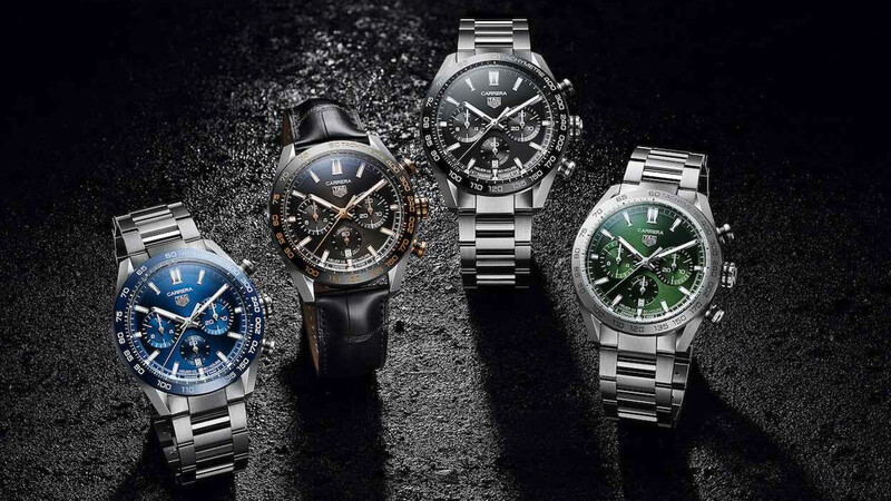 TAG Heuer Carrera: reloj favorito del motorsport se renueva