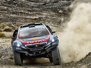 Peugeot 2008 DKR hace el 1-2 en el Rally de China
