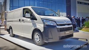 Toyota Hiace se lanza en Argentina